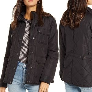 EUC Thread & Supply Lined Quilted Utility Jacket